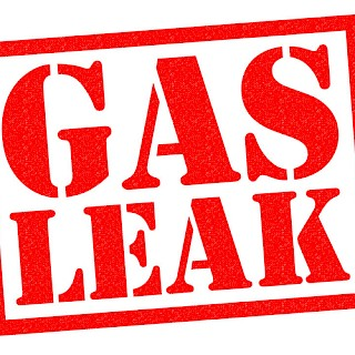 Gas leak in Sale