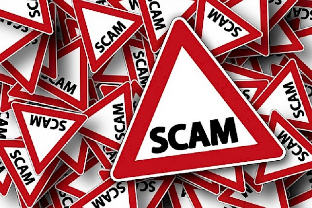 Scam warning